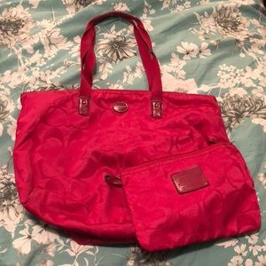 Coach Foldable Weekend Bag